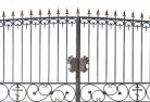 Wrought iron fencing